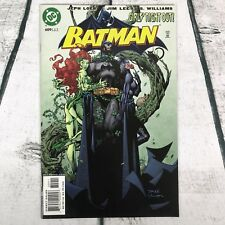 DC Batman #609 Comic Jeph Loeb Jim Lee Poison Ivy Catwoman 1st Appear Tom Hush