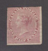"""Canada MINT NG Scott #8  1/2d Queen Victoria """"Pence""""   *"""