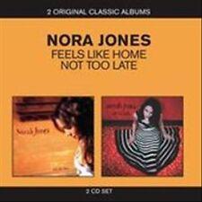Feels Like Home/Not Too Late by Norah Jones (CD, Mar-2011, 2 Discs, EMI)