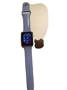 Apple Watch Series 1 42mm Aluminum Case White Sport Band - (MNNL2LL/A)