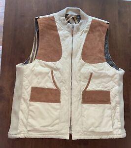Men's Beretta Shoulder Patch Shooting Vest Mens Zip Front XXL