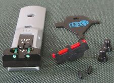 LPA Adjustable sight set for Smith & Wesson Revolvers , model TXT03F1 SILVER.
