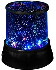 Blue Space Star Light Projector Battery Operated Lamp Night Light NEW