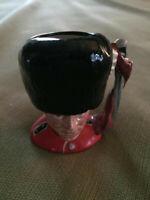 """Royal Doulton The Guardsman MINI character mug, D6772, approx 2.5"""" tall"""