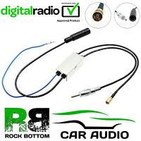 PIONEER Car Radio Stereo Headunits Digital DAB+ Aerial Antenna Splitter 06-536
