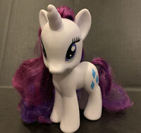 "My Little Pony RARITY 5.5""  White Unicorn Figure Friendship is Magic G4 2010"