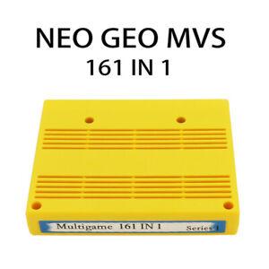 SNK 161-in-1 Cartridge Console Cassette Jamma MVS Neo Geo Motherboard Cart JH