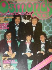OSMONDS WORLD MAGAZINE - ISSUE 13 NOVEMBER 1974