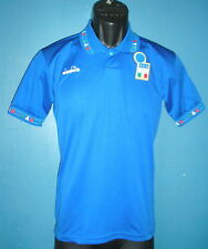 1991-1992 Italy Home Football Shirt   [Large Boys]