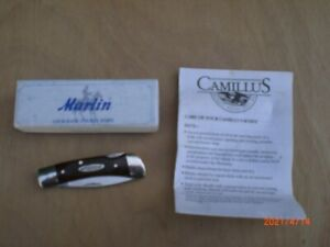 MARLIN FIREARMS MODEL 887MP BY CAMILLUS LOCK BACK FOLDER VERY NICE UNUSED SHAPE