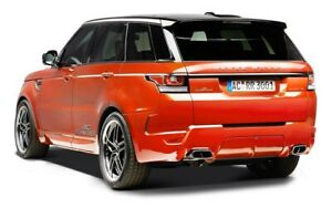 AC Schnitzer performance exhaust for Range Rover Sport 5.0 V8