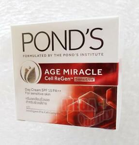 Pond s Age Miracle Cell Regen Sensitive SPF 15 PA++ (For Sensitive Skin) 50g.