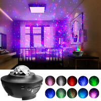 Star Projector Night Light, 2 in 1 Starry Music Ocean Wave Projector Lamp Party