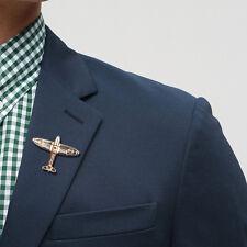 Aircraft Women & Men Shirt Suit Accessory Gift Collar Clip Shirt Hollow Brooch