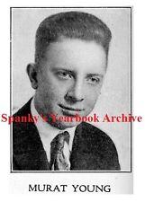 1910s Cartoonist CHIC YOUNG Hi School Yearbook BLONDIE Comics Dagwood Bumstead +