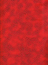 Red Dots Tone-on-Tone Tonal Quilt Fabric (27 inches)