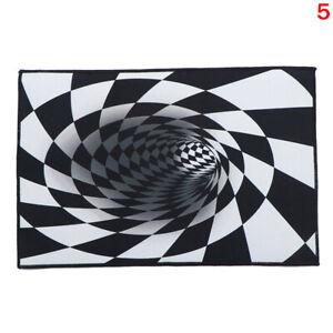 Visual Trap Carpet Living Room Bedroom Kitchen Room Floor Mat 3D Home Car /M