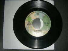 """Pop 45 Doobie Brothers """"Black Water / Song To See You"""" Warner Brothers 1974 G+"""