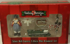Lionel Christmas Ornament 'Silver Bell Express' 5pc Set Item #922019