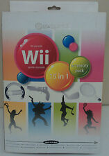 Exspect Nintendo Wii 15 in 1 Accessory Sports Pack NEW
