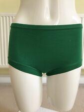 Vintage Schoolgirl Knickers Panties Green Age 9-12