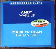 ANDY (WAKE UP) / MARK Mc DEAN (ITALIAN GIRL) - ZYX ITALO DISCO CD MAXI [903]