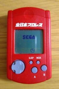 SEGA Dreamcast DC All Japan Pro Wrestling Limited Edition VMU Memory Card