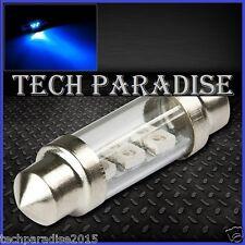 1x Ampoule 39mm C5W C7W C10W LED Bulb 3 SMD Bleu Blue plaque Navette Festoon