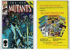 The New Mutants #36 (Vol 1 Feb1986) Cover:Barry Windsor-Smith, Sienkiewicz [MT]