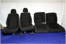 2015-2017 FORD MUSTANG GT 5.0 COYOTE BLACK CLOTH SEATS COUPE 15 16 17 BUCKET