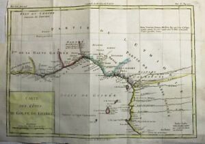 1788 Nice Brion de la Tour Map of Guinea, West Africa