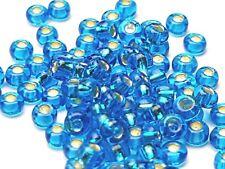 silber metallic 50g Rocailles Glasperlen 8//0 3mm 7,90€//100g