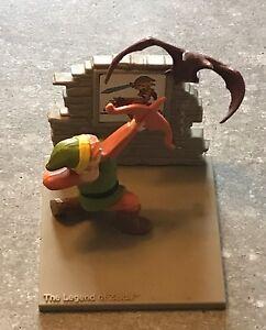 Rare Vintage 1988 Legend Of Zelda Statue Nintendo Link Figure