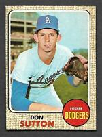 1968 Topps O-Pee-Chee OPC #103 Don Sutton Dodgers TOUGH EXMT/NM