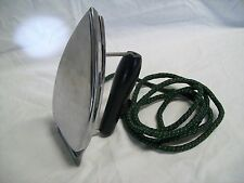 Vintage Gorgie Mfg. Fiery Feather Folding Travel Iron