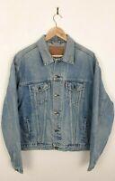 Mens Levis 61653 02 Blue Vintage Trucker Denim Jacket Size XL