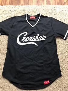 The Marathon Clothing Crenshaw V-Neck Jersey Black Authentic Medium Nipsey