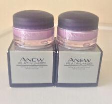 2 x Avon Anew Platinum Define & Contour Day Cream 15ml Travel Size New SPF 25