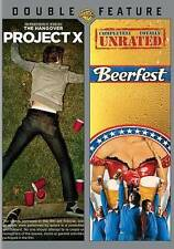 Project X / Beerfest (DVD, 2014, 2-Disc Set, Double Feature) *NEW* Sealed