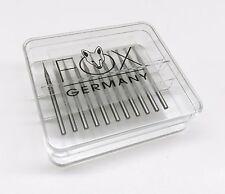 Wheel Burs Fox Jewelers Bur Set Fig 2 Fox Jewelry Burs Rotary Tool Bits 006-023