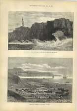 1873 gran toma arenques Boca EXE Boca do Inferno accidente reina de Portugal