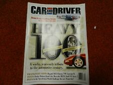 Car and Driver Magazine December 1999  A Wacky Tribute To The Auto Industry