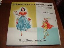 """"""" BIANCANEVE E I SETTE NANI -IL PIFFERO MAGICO """" E.P.  ITALY'60"""