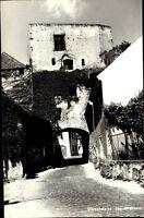 Dürnstein in der Wachau Niederösterreich Postkarte ~1950/60 Straßenpartie am Tor