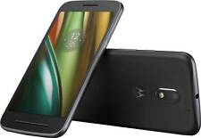 "Motorola Moto E3 Smartphone Black 8 GB 5"" Display Android 6.0 Unlocked Sim Free"