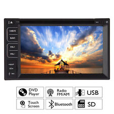 "Touchscreen 2 Din 7"" Car Stereo DVD CD MP3 Player HD In Dash Bluetooth Radio USB"