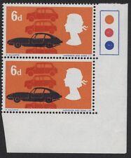 1966 6d British Technology Constant Variety. Sg 702