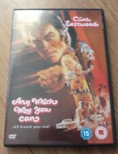 ANY WHICH WAY YOU CAN*DVD*CLINT EASTWOOD*SONDRA LOCKE*CLASSIC FILM