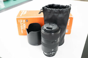 Sony 70-300mm f4.5 - 5.6 G SSM II for A-mount