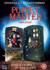 Puppet Master Trilogy - x3 Dvds !